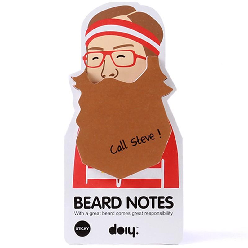 Блок для записей Beard, коричневый