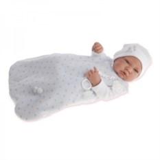 Кукла-младенец Тони в голубом Munecas Antonio Juan
