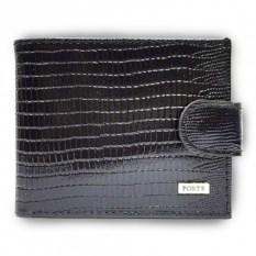 Коричневый кошелек из натуральной кожи