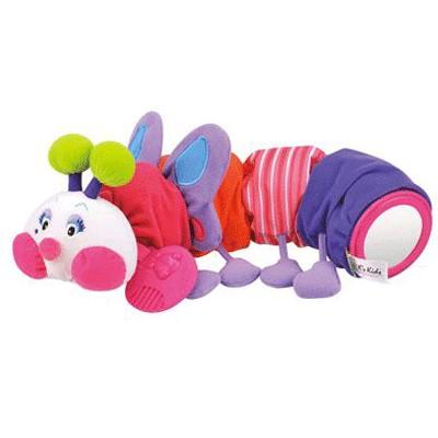Развивающая игрушка Гусеничка-бабочка