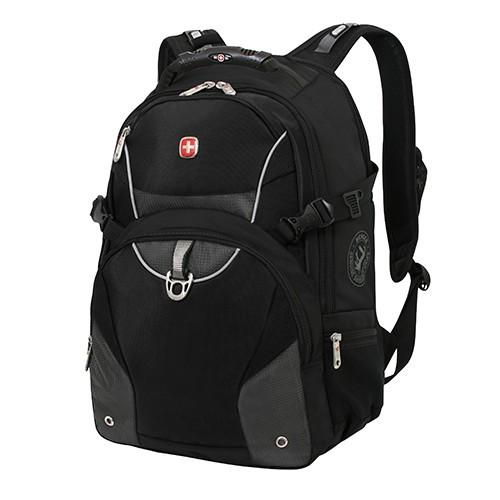 Рюкзак Wenger, черный с серым