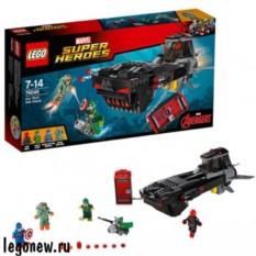 Конструктор Lego Super Heroes Похищение Капитана Америка™