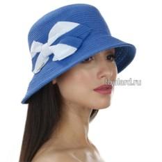 Пляжная синяя шляпа от Del Mare