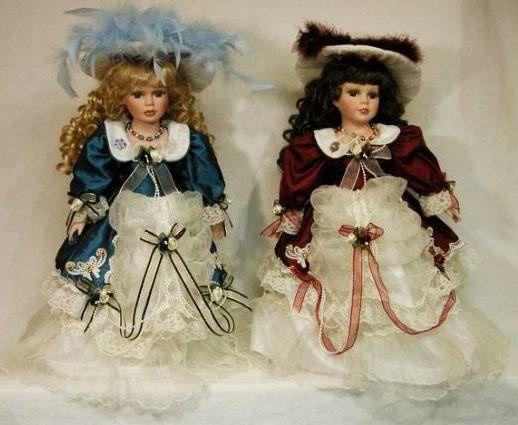 Кукла фарфоровая Анжела