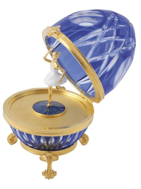 Яйцо Балерина синее