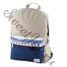 Женский рюкзак Fair Isle Ethnic (Синий)