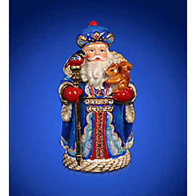 Шкатулка «Дед мороз»