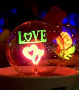 Ночник Flower light Love