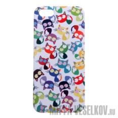 Чехол для IPhone 5 Много кошек