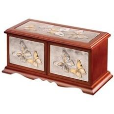Шкатулка для драгоценностей Бабочки