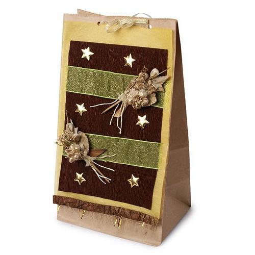 Пакет ручной работы «Праздничный»