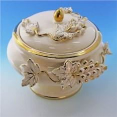 Керамическая шкатулка для украшений Барокко