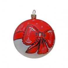 Новогодний шар с кристаллами Сваровски №7