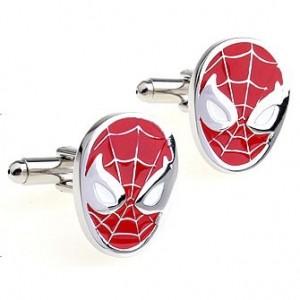 Запонки Человек-паук
