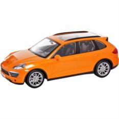 Оранжевая радиоуправляемая машина Porsche Cayenne
