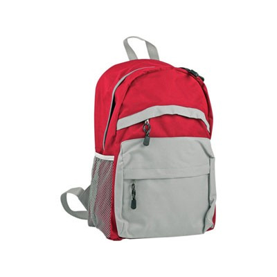 Рюкзак с 2 отделениями красный
