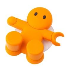Оранжевый держатель для зубной щётки Amico