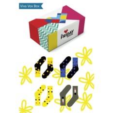 Набор дизайнерских носков Viva Vox Box