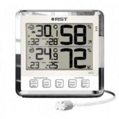 Цифровой термометр-гигрометр для помещения и улицы Швеция