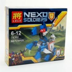 Конструктор Lele Nexo soldiers, 68 деталей