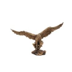 Бронзовая статуэтка на мраморе каштанового цвета Орел