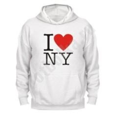 Толстовка I love NY