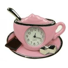 Настольные часы Кофемания