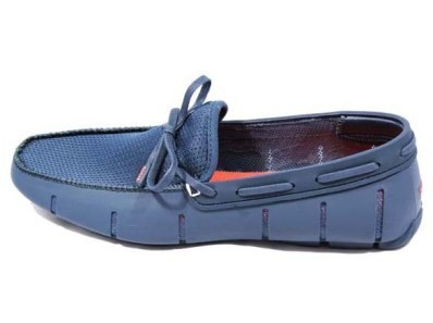 Мокасины Swims Lace Front, синие