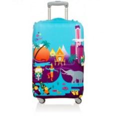 Чехол для чемодана LOQI Urban Thailand