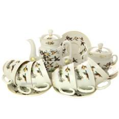 Чайный сервиз Летят утки (6 персон, 14 предметов)