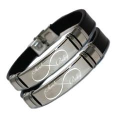 Кожаные парные браслеты Для влюблённых