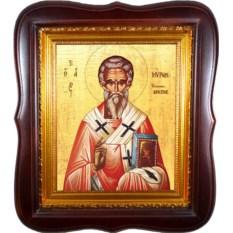 Икона на холсте Мирон Чудотворец епископ Критский
