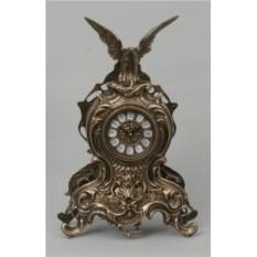 Большие бронзовые часы Орел