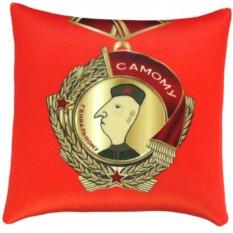 Антистресс подушка-медаль Самому гениальному