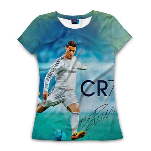 Женская футболка Ronaldo