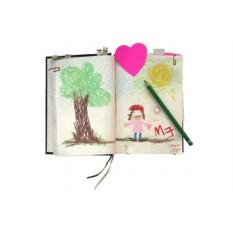 Бежевый дневник My Life Story