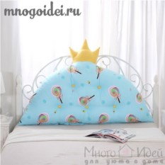 Декоративная подушка-корона Леденцовое царство