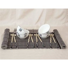 Набор посуды для суши Иероглифы удачи