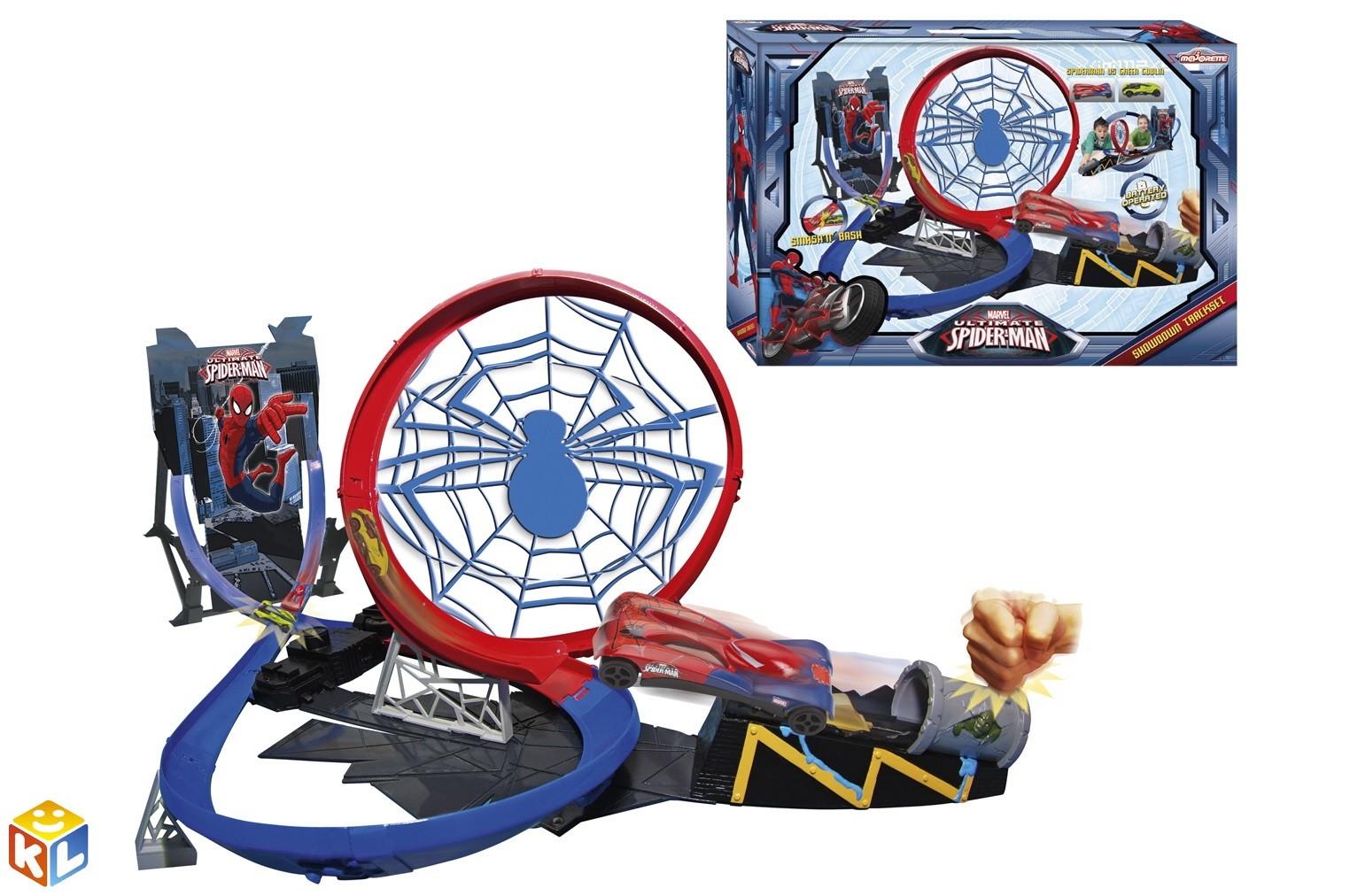 Автотрек Человек паук. Мертвая петля, Majorette