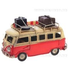 Модель Красный микроавтобус