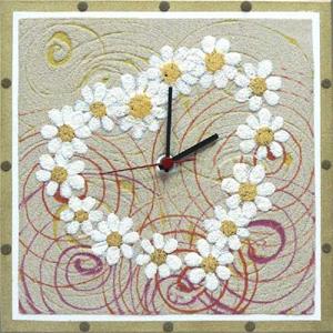 Часы настенные «Ромашки»