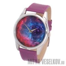 Наручные часы Космос (цвет: лиловый)