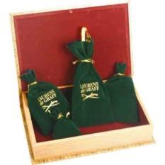 Набор Фрегат: портмоне, часы карманные на подставке, нож