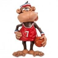 Подарочная фигурка на год обезьяны «Баскетболист»