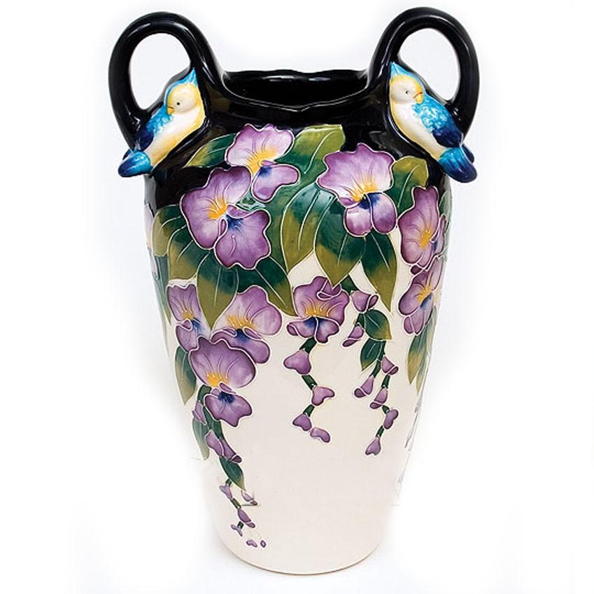 Керамическая ваза Глициния
