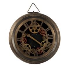 Настенные часы-скелетоны из металла
