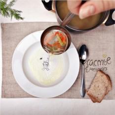 Сюжетная глубокая тарелка Кроль - водолаз
