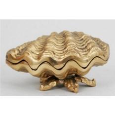 Шкатулка из бронзы Ракушка