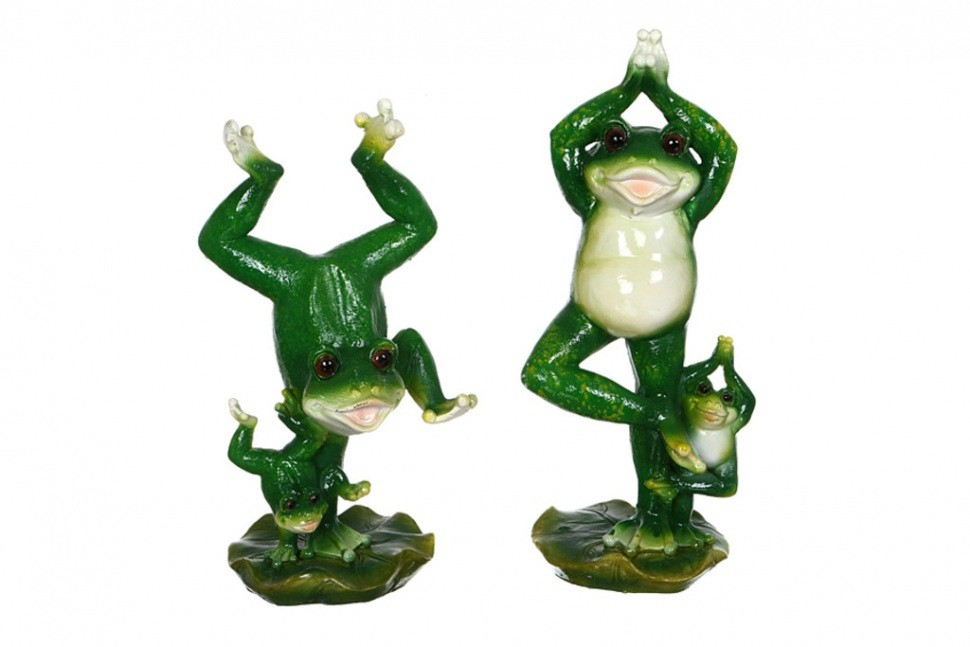 Комплект фигурок Лягушка-гимнастка Hong Kong