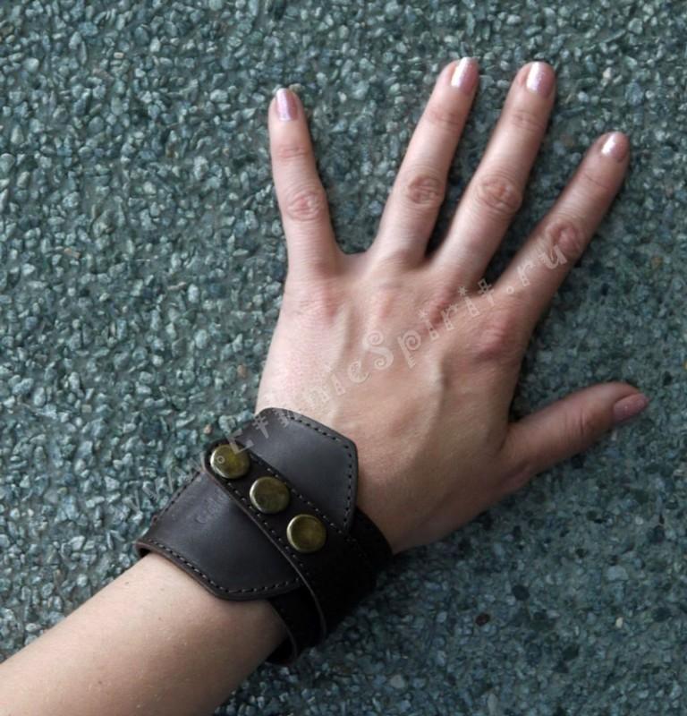 Креативный кожаный браслет от Scappa